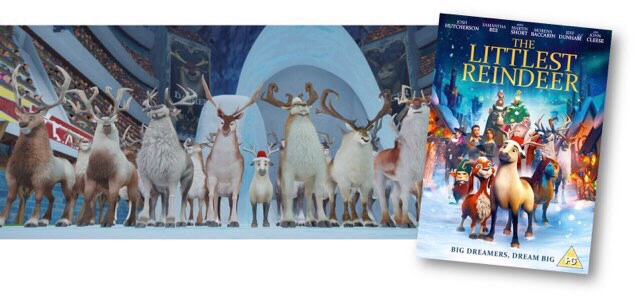 The Littlest Reindeer Review & Giveaway
